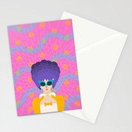 Modern Marie Antoinette Stationery Cards