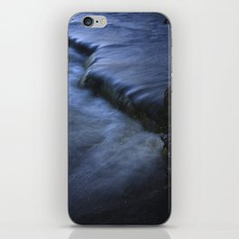 Sparkling Blue Water Slips Past Gnarled Tree Roots iPhone Skin