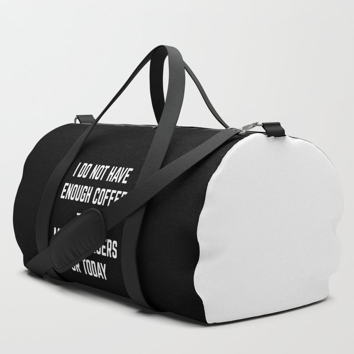 Coffee_&_Middle_Fingers_Funny_Quote_Duffle_Bag_by_EnvyArt__SET_OF_3