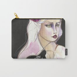 Green Eyed by Jane Davenport Carry-All Pouch