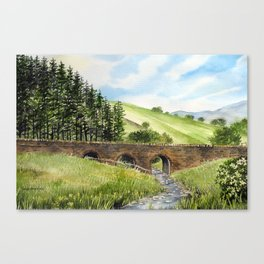 Scawgill Bridge Canvas Print