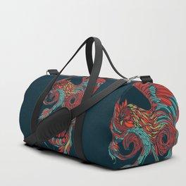 Rooster Skull Duffle Bag