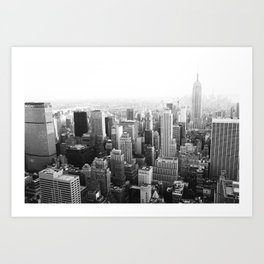 The Top of the World Art Print