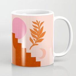 Abstraction_SUN_NATURE_Architecture_Minimalism_001 Coffee Mug