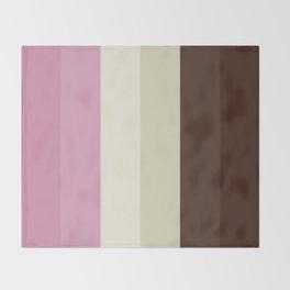 Neapolitan Mood Throw Blanket