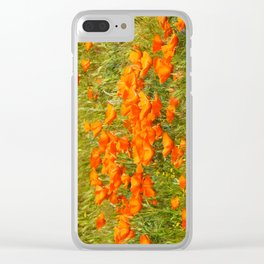 Golden Poppies 2017 Clear iPhone Case