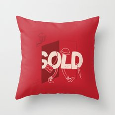 Sold Out Throw Pillow