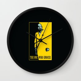 The One Who Knocks Wall Clock