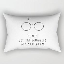 Don't Let The Muggles Get You Down Rectangular Pillow