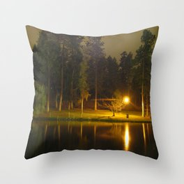 Manito by Nightfall Throw Pillow