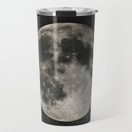 The Moon  [Sans Type] Travel Mug