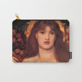 """Dante Gabriel Rossetti """"Venus Verticordia"""" Carry-All Pouch"""
