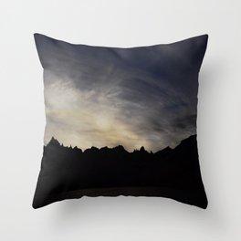 Cerro Catedral Throw Pillow