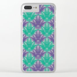 UV Jungle #society6 #ultraviolet #pattern Clear iPhone Case