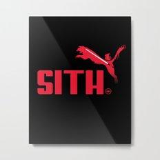 Brand Wars: Sith Metal Print