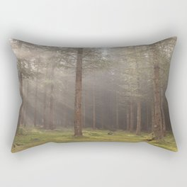 Mystical forest - North Kessock, The Highlands, Scotland Rectangular Pillow