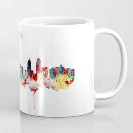 Kansas City Skyline Silhouette Coffee Mug