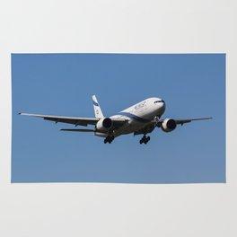 El Al Boeing 777 Rug