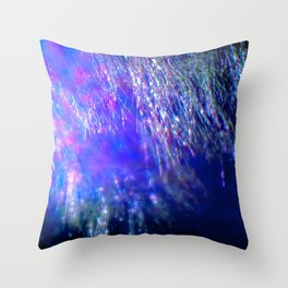 Under the Shimmering Branches Throw Pillow