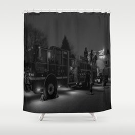 Station 6 Shower Curtain