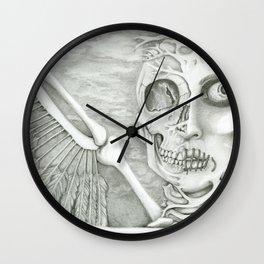 surreal fallen angel Wall Clock