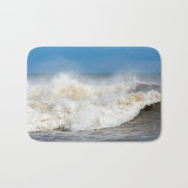 Seaham waves Bath Mat