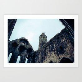 Rock of Cashel 1 Art Print