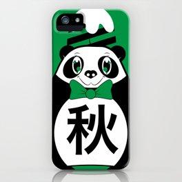 Aki - Season bear Autumn iPhone Case
