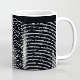 Unknown Radio Waves - Unknown Pleasures Coffee Mug