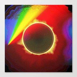Solar Eclipse Spectre Canvas Print