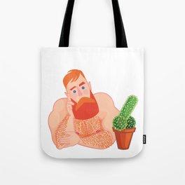 Flirtatious Guy Tote Bag