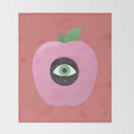 Forbidden Fruit Throw Blanket