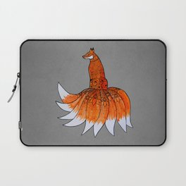 Kitsune, the Nine-Tailed Fox Laptop Sleeve