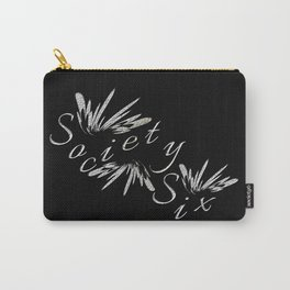 Silvery S6 logo Carry-All Pouch