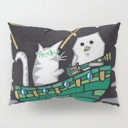 The Owl & The Pu$$y Cat Pillow Sham