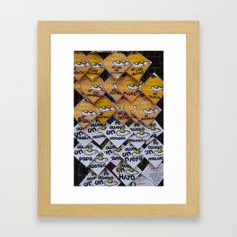 Huevos Framed Art Print