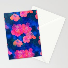 Leopardflowers by Odette Lager Stationery Cards