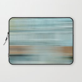 Life (Aqua and Burnt Rose) Laptop Sleeve
