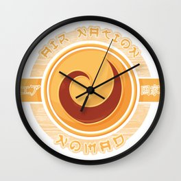 Air Nation Nomad Wall Clock