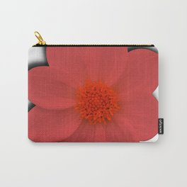 Coral Blossom Carry-All Pouch