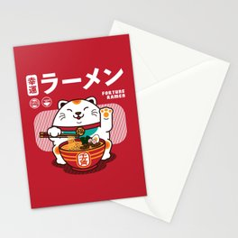 Fortune Ramen Stationery Cards
