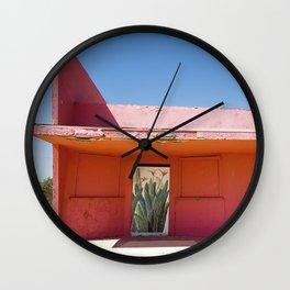 Meet Me Wall Clock