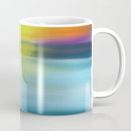 Tropical Ocean Sunset Watercolor Coffee Mug