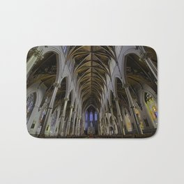 CATHEDRAL OF THE HOLY CROSS, BOSTON MA Bath Mat