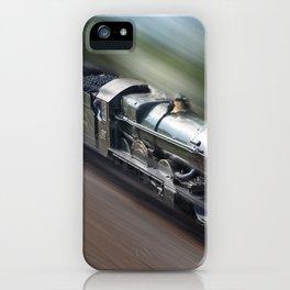 Nunney castle steam train iPhone Case