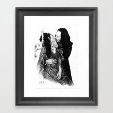 Bram Stoker dracula Framed Art Print