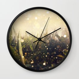 Hidden in the Magic Garden Wall Clock