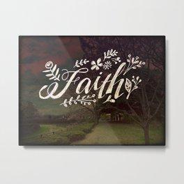 Faith Meadow Metal Print
