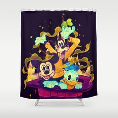 Trouble Makers Shower Curtain