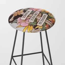 Remove everything that holds you down Bar Stool